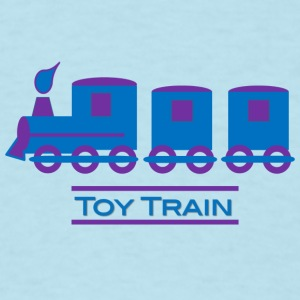 Train Design for Boys - Men's T-Shirt