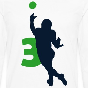 Russell Wilson SUPERSTAR Shirt #3 - Men's Premium Long Sleeve T-Shirt