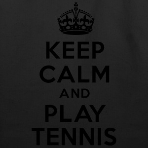 Keep calm and play Tennis Hoodies - Eco-Friendly Cotton Tote