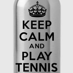 Keep calm and play Tennis Hoodies - Water Bottle