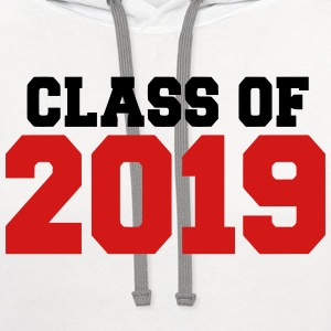 Class of 2019 T-Shirts - Contrast Hoodie