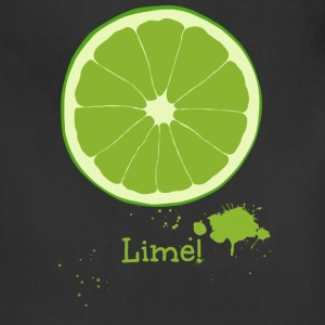 Lime T-Shirts - Adjustable Apron