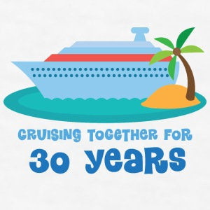 30th Anniversary Gift (Cruise) Bottles & Mugs - Men's T-Shirt