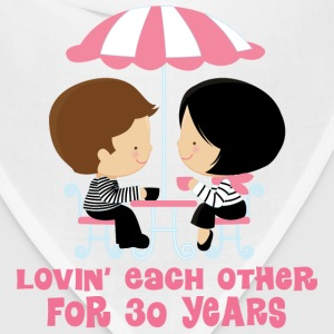 30th Anniversary Couple Hoodies - Bandana