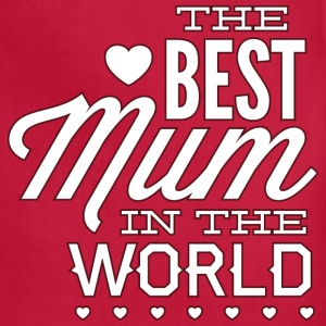 The Best Mum In The World - Adjustable Apron