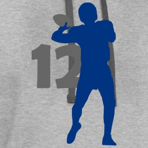 Luck Superstar #12 Colts Shirt - Contrast Hoodie