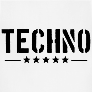 Techno T-Shirts - Adjustable Apron