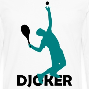 DJOKER Tennis SUPERSTAR Shirt - Men's Premium Long Sleeve T-Shirt