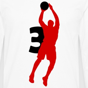 Wade SUPERSTAR #3 Heat Shirt - Men's Premium Long Sleeve T-Shirt