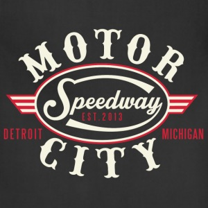 MOTOR CITY SPEEDWAY T-Shirts - Adjustable Apron