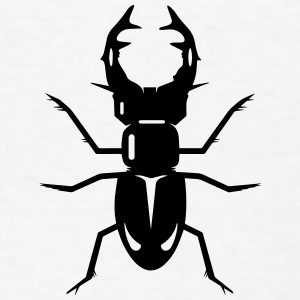 A stag beetle Buttons - Men's T-Shirt