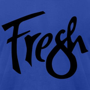 fresh1 Hoodies - Men's T-Shirt by American Apparel