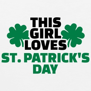 This girl loves St. Patrick's Day Women's T-Shirts - Men's Premium Tank