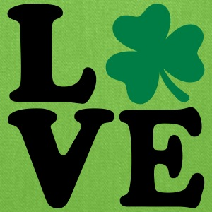 Shamrock love Women's T-Shirts - Tote Bag
