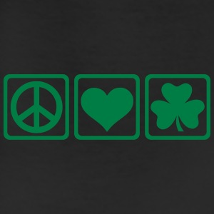 Peace love Shamrock Women's T-Shirts - Leggings