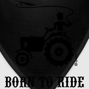 Born To Ride (Tractor) T-Shirt - Bandana