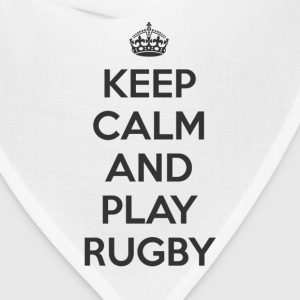 keep calm and play rugby T-Shirts - Bandana