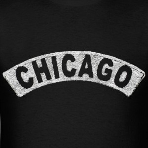 Throwback Chicago Arch Hoodies - Men's T-Shirt