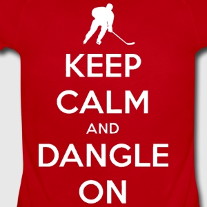 Keep Calm And Dangle On Kids' Shirts - Short Sleeve Baby Bodysuit