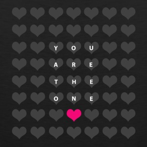You are the one - love and romance Hoodies - Men's Premium Tank