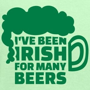I've been Irish for many beers Women's T-Shirts - Women's Flowy Tank Top by Bella