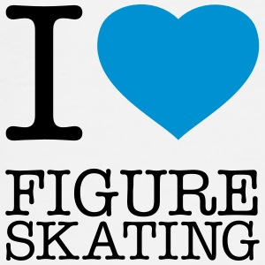 I LOVE FIGURE SKATING - Men's Premium T-Shirt