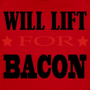 will lift for bacon funny  Kids' Shirts - Short Sleeve Baby Bodysuit
