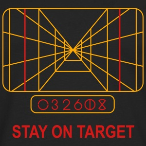Stay on Target T-Shirts - Men's Premium Long Sleeve T-Shirt
