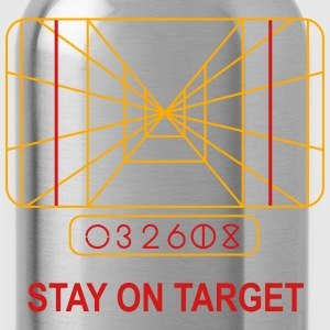 Stay on Target Women's T-Shirts - Water Bottle