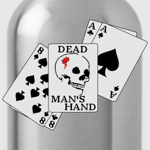 Dead mans hand5 - Water Bottle