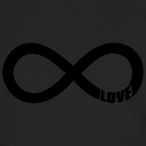 infinite love Hoodies - Men's Premium Long Sleeve T-Shirt