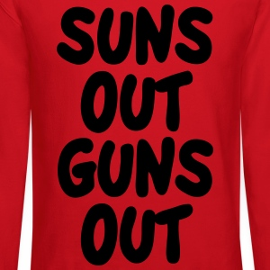 Suns Out Guns Out Tanks - Crewneck Sweatshirt