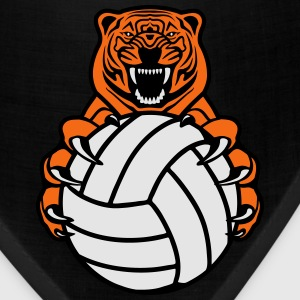 Volleyball Tiger Women's T-Shirts - Bandana