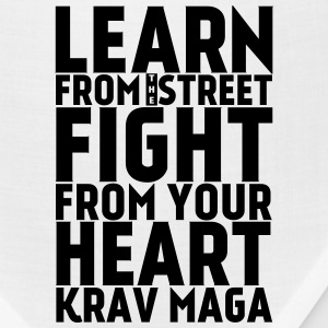 Learn Krav Maga black - Bandana