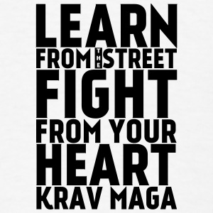 Learn Krav Maga PINK - Men's T-Shirt