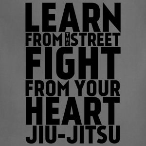 Learn Jui Jitsu black - Adjustable Apron