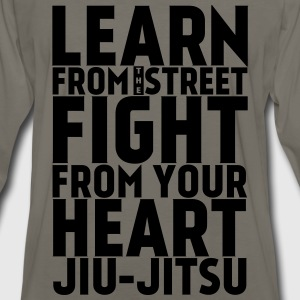 Learn Jui Jitsu black - Men's Premium Long Sleeve T-Shirt