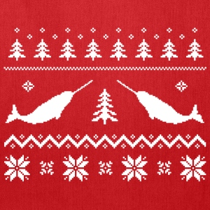 Ugly Narwhal Christmas Sweater T-Shirts - Tote Bag