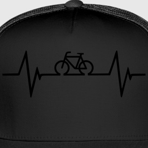 Bicycle Heartbeat - Trucker Cap