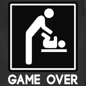Game Over New Baby for Parent Dad T-Shirts - Adjustable Apron