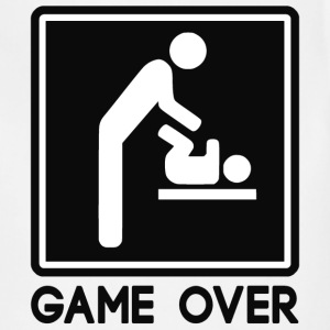Game Over New Baby for Parent Dad - Adjustable Apron