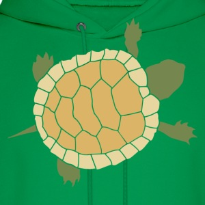 Cute Crawling Little Turtle Tortoise T-Shirts - Men's Hoodie