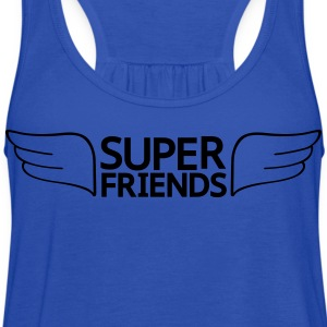 Super Friends T-Shirts - Women's Flowy Tank Top by Bella