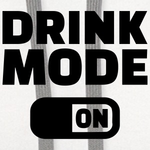 Drink Mode on Bottles & Mugs - Contrast Hoodie