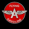 Flying A Gasoline rusted version - Men's Premium T-Shirt