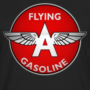 Flying A Gasoline crystal version - Men's Premium Long Sleeve T-Shirt