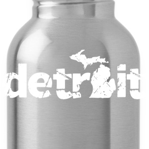 DETROIT MICHIGAN Long Sleeve Shirts - Water Bottle