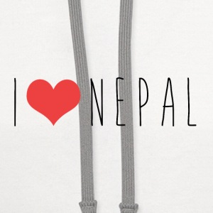 I LOVE NEPAL Phone & Tablet Cases - Contrast Hoodie