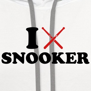 I love Snooker Women's T-Shirts - Contrast Hoodie