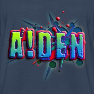 boys_name_012014_aiden_a Kids' Shirts - Men's Premium Long Sleeve T-Shirt